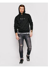 La Martina Bluza RMF003 FP169 Czarny Regular Fit. Kolor: czarny