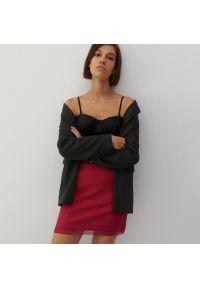 Reserved - Spódnica z wiskozą - Różowy. Kolor: różowy. Materiał: wiskoza