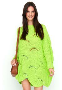 Sweter oversize Makadamia