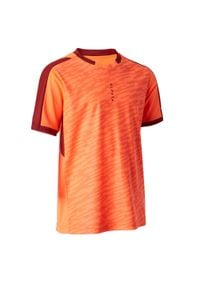 Koszulka do piłki nożnej KIPSTA z dekoltem w kształcie v, krótka