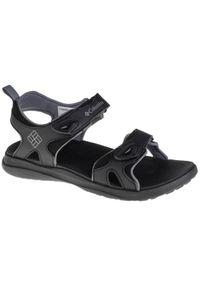 Czarne sandały sportowe columbia