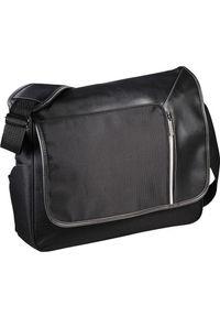 Czarna torba na laptopa KEMER