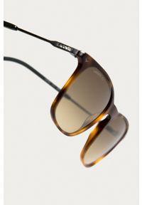 Lacoste - Okulary przeciwsłoneczne L870S 214. Kolor: brązowy