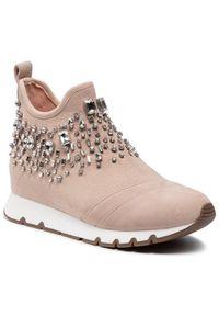 Beżowe sneakersy Eva Longoria
