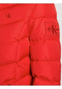 Czerwona kurtka puchowa Calvin Klein Jeans