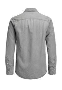 Jack & Jones - Jack&Jones Koszula Sheridan 12138115 Szary Slim Fit. Kolor: szary
