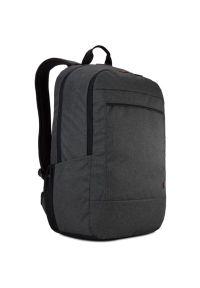 Szary plecak na laptopa CASE LOGIC w kolorowe wzory