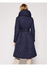 Niebieski płaszcz zimowy Guess