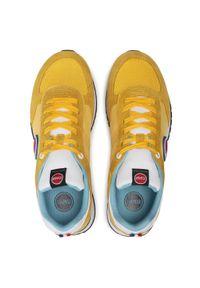 Colmar - Sneakersy COLMAR - Travis Bold 131 Yellow/White. Okazja: na co dzień, na spacer. Kolor: żółty. Materiał: zamsz, materiał, skóra. Szerokość cholewki: normalna. Styl: casual, sportowy