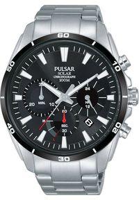 Zegarek Pulsar Zegarek Pulsar Solar męski chronograf PZ5059X1 uniwersalny