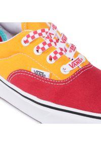 Pomarańczowe buty sportowe Vans Vans Era, z cholewką