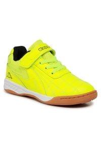 Kappa - Sneakersy KAPPA - Furbo K 260776K Yellow-Black 4011. Zapięcie: rzepy. Kolor: żółty. Materiał: materiał. Szerokość cholewki: normalna
