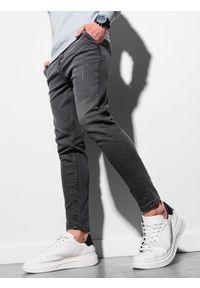 Czarne spodnie Ombre Clothing