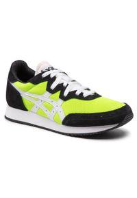 Asics - Sneakersy ASICS - Tarther Og 1201A167 Hazard Green/White 300. Kolor: zielony. Materiał: skóra, materiał, zamsz. Szerokość cholewki: normalna