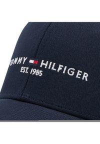 TOMMY HILFIGER - Tommy Hilfiger Czapka z daszkiem Th Established Cap AM0AM07352 Granatowy. Kolor: niebieski