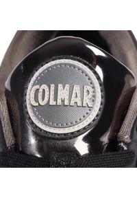 Czarne półbuty Colmar na co dzień, z cholewką