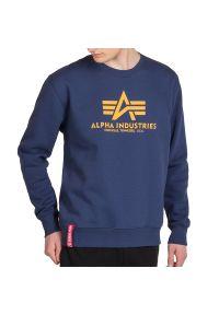 Alpha Industries - ALPHA INDUSTRIES BASIC SWEATER > 178302463. Materiał: poliester, bawełna. Wzór: nadruk