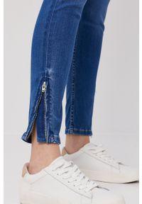 Pepe Jeans - Jeansy Lola. Kolor: niebieski