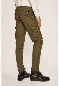 Zielone spodnie Calvin Klein Jeans