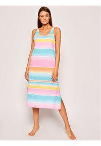 Lauren Ralph Lauren Koszula nocna ILN01804 Kolorowy Regular Fit