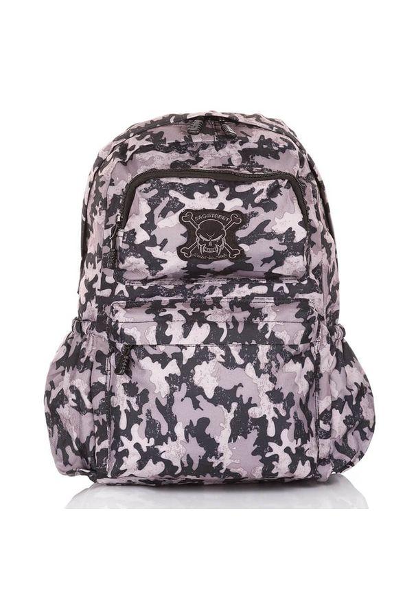 BAG STREET - Młodzieżowy plecak szkolny Bag Street MORO 4236. Materiał: materiał. Wzór: moro. Styl: street, młodzieżowy
