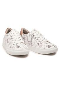 Refresh - Sneakersy REFRESH - 72887 Hielo. Okazja: na co dzień, na spacer. Kolor: biały. Materiał: skóra ekologiczna, materiał. Szerokość cholewki: normalna. Sezon: lato. Styl: casual #7