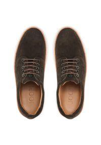 Sneakersy JOOP! - Velluto 4140005794 Dark Brown. Okazja: na spacer, na co dzień. Kolor: brązowy. Materiał: skóra, zamsz. Szerokość cholewki: normalna. Styl: sportowy, casual