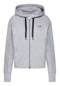 Under Armour Bluza Ua Rival Fleece Embroidered 1362419 Szary Loose Fit. Kolor: szary