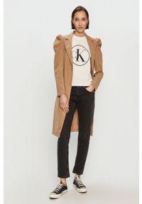 Czarne proste jeansy Pepe Jeans casualowe, na co dzień