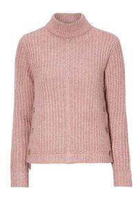 Różowy sweter Happy Holly na co dzień, casualowy