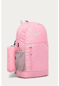 Różowy plecak Nike Kids z nadrukiem