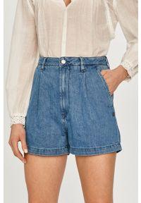 Pepe Jeans - Szorty jeansowe Laurel. Okazja: na co dzień. Kolor: niebieski. Styl: casual