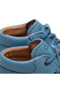 Froddo - Trzewiki FRODDO - G2130226-1 D Jeans. Kolor: niebieski. Materiał: skóra. Sezon: zima, jesień