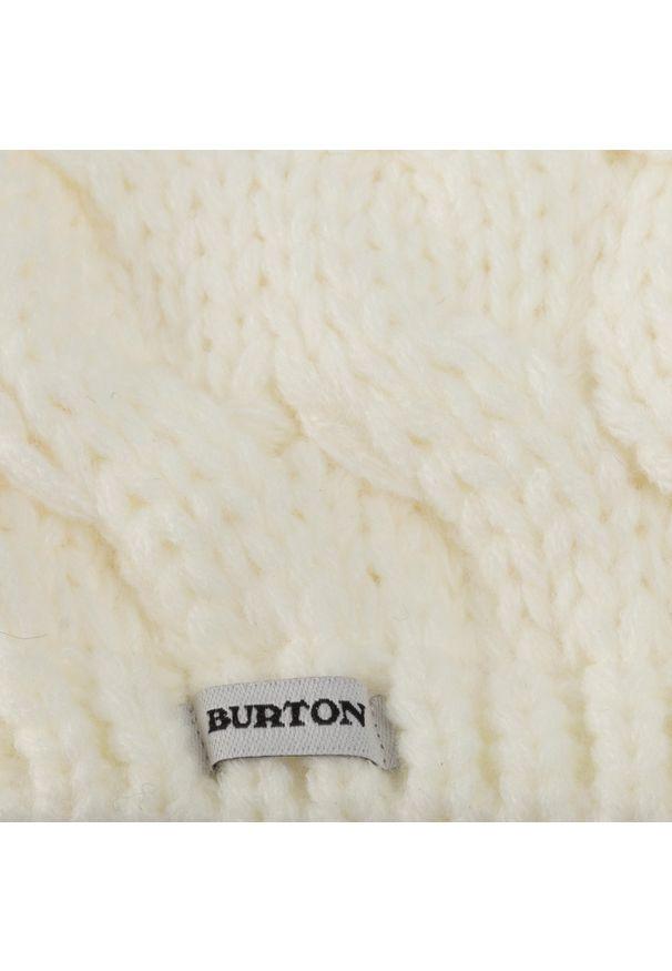 Biała czapka Burton