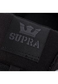Czarne buty sportowe Supra z cholewką, na co dzień