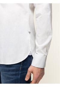 Biała koszula biznesowa Guess