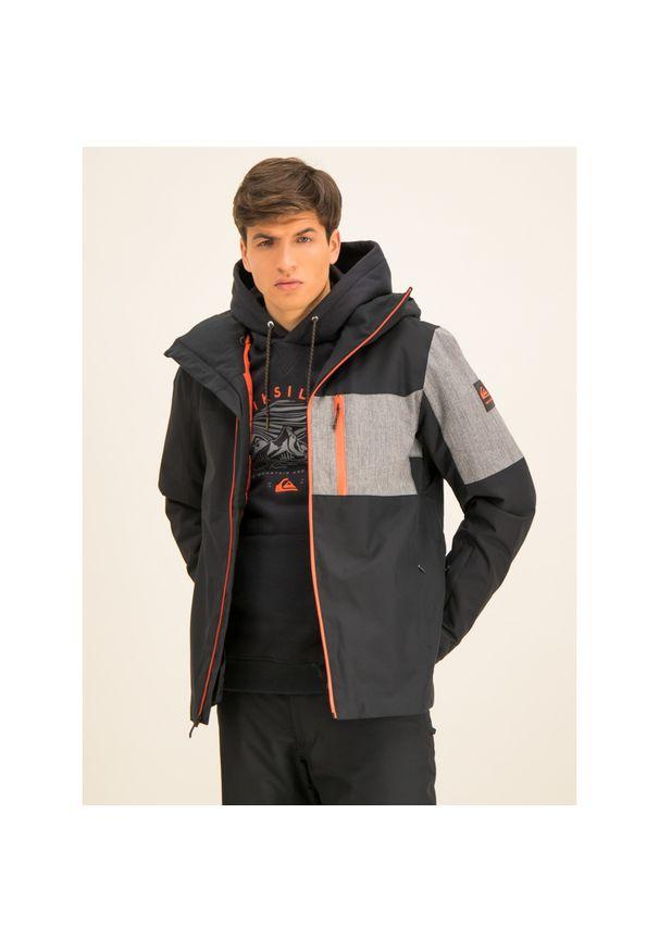 Czarna kurtka narciarska Quiksilver