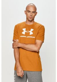 T-shirt Under Armour na co dzień, casualowy