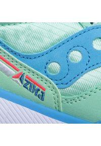 Zielone buty sportowe Saucony z cholewką, na co dzień