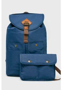 Doughnut - Plecak Montana. Kolor: niebieski. Wzór: paski