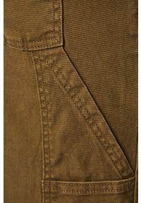 Oliwkowe spodnie Jack & Jones na co dzień, casualowe
