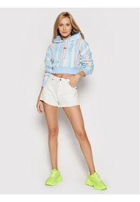 Tommy Jeans Bluza Stripe DW0DW10972 Kolorowy Regular Fit. Wzór: kolorowy