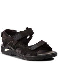 Czarne sandały trekkingowe Lowa