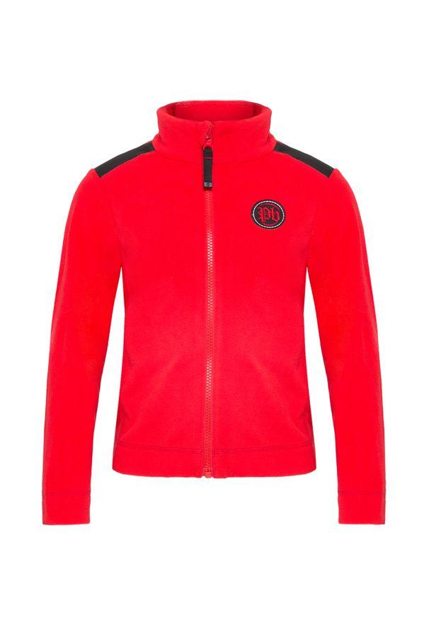 Czerwona bluza Poivre Blanc w kolorowe wzory