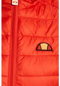 Czerwona kurtka Ellesse z kapturem, casualowa, na co dzień