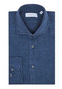 Baldessarini Koszula Henry B3 10000/000/3030 Granatowy Tailored Fit. Kolor: niebieski #4