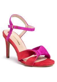 Fioletowe sandały Maccioni wizytowe