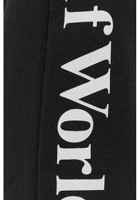 HUF - Spodnie. Kolor: czarny. Materiał: dzianina