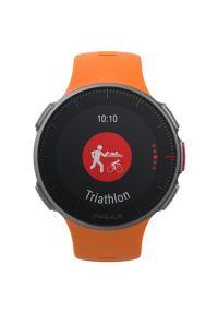 Pomarańczowy zegarek POLAR sportowy
