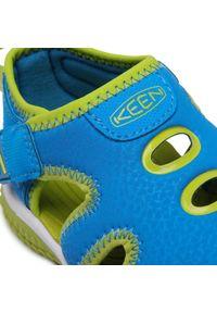 keen - Sandały KEEN - Stingray 1022683 Brilliant Blue/Chartreuse. Kolor: niebieski. Materiał: materiał, skóra. Sezon: lato. Styl: klasyczny